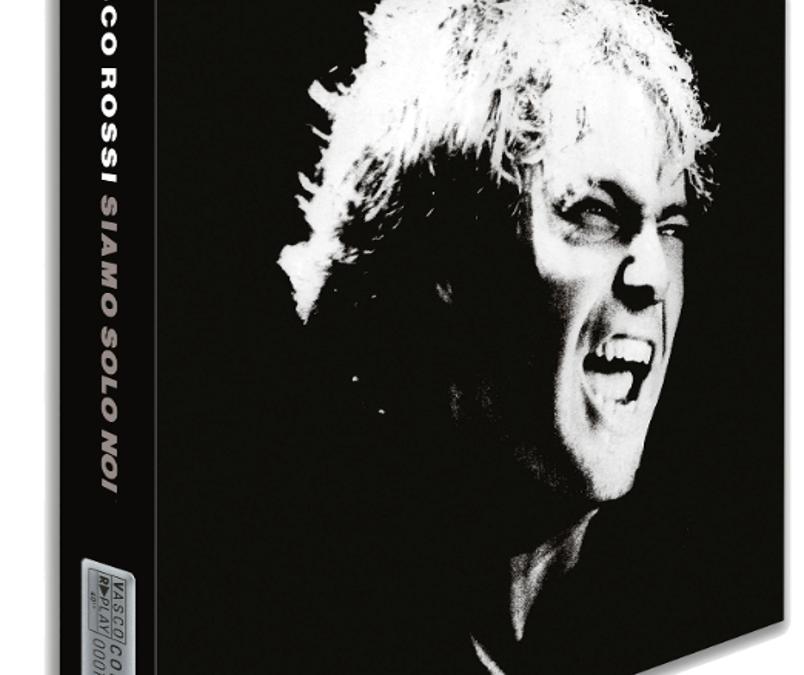 """VASCO ROSSI  Per celebrare i 40 anni dalla pubblicazione del suo quarto album  """"SIAMO SOLO NOI""""  ESCE IL 18 GIUGNOIN TRE VERSIONI DA COLLEZIONE"""