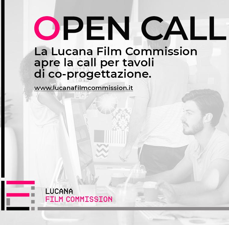 LA LUCANA FILM COMMISSION APRE LA CALL PER TAVOLI DI CO-PROGETTAZIONE