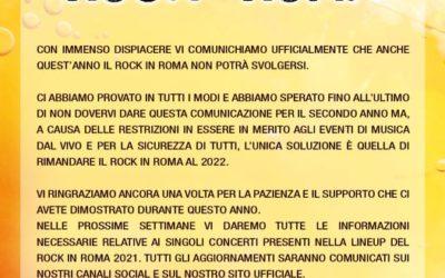 POSTCARD FROM ROCKINROMA ARRIVEDERCI ALLA PROSSIMA ESTATE