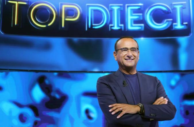 """TORNA SU RAI1 """"TOP DIECI"""", CON CARLO CONTI Super ospite della serata ZUCCHERO"""